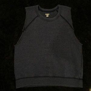 Aerie brand sleeveless sweatshirt